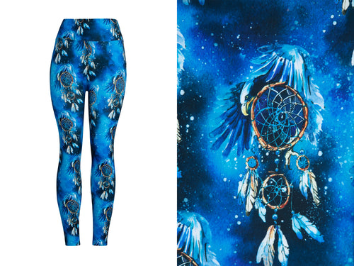 Natopia Ultimate Midnight Dreamcatcher Leggings Curvy Plus Size Fits Size 16-22
