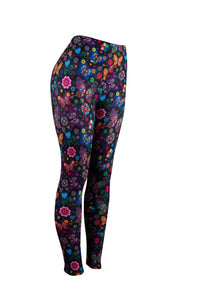 Natopia Butterfly Kisses Leggings One Size Fits 8-14 Exclusive Print