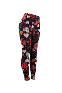 Natopia All Heart Leggings Curvy Plus Size Fits 16-22