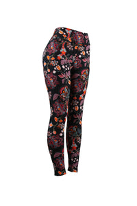 Natopia Floral Feeling Leggings Curvy Plus Size Fits 16-22