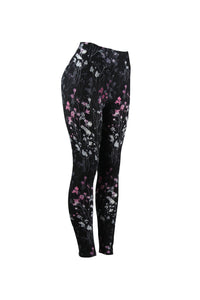 Natopia Subtle Bloom Leggings Curvy Plus Size Fits 16-22