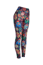 Natopia Deluxe Elephant Party Leggings Curvy Plus Size Fits 16-20