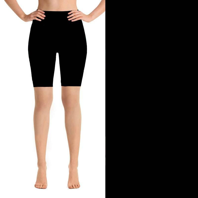Natopia Deluxe Basic Black Must Have Shorts One Size Fits 8-14