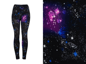 Natopia Super Soft The Second Galaxy Leggings Curvy Plus Size Fits 16-22