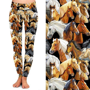 Band of Horses Deluxe Leggings - natopia