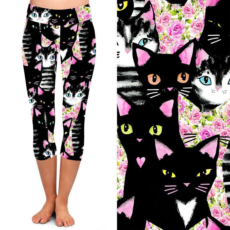 Natopia Deluxe What's New Pussycat Capri One Size Fits 8-14
