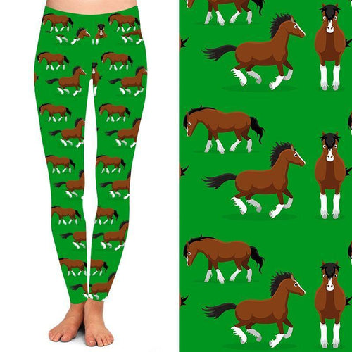 Clip Clop Clydies Deluxe Leggings - natopia