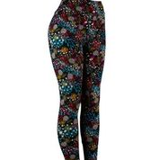 Natopia Botanical Bliss Leggings Exclusive Print Curvy Plus Size Fits Size 16-22
