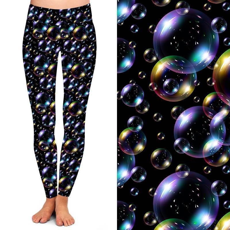 Natopia Deluxe Floating Bubbles Leggings Kids Size Fits L/XL (7-12 Years)