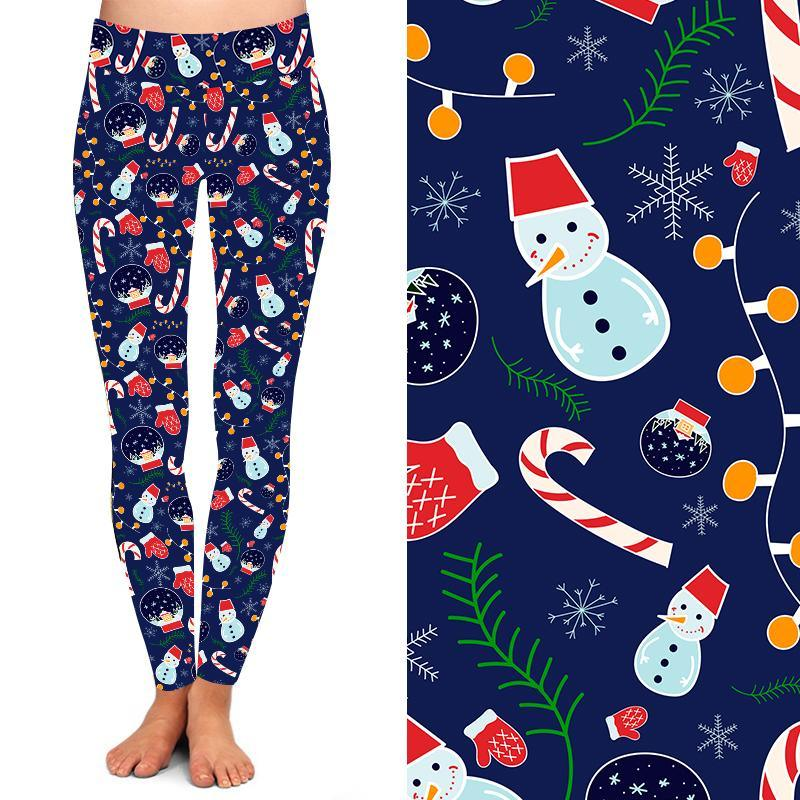 Natopia Deluxe All I Want For Christmas is You Leggings Curvy Plus Size 16-20