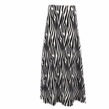 Natopia Super Soft Jungle Zebra Maxi Skirt Fits Size 12-14