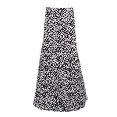 Natopia Super Soft Snow Leopard Maxi Skirt One Size Fits 8-14