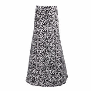 Natopia Super Soft Snow Leopard Maxi Skirt Fits Size 12-14