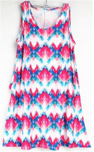 Natopia Hot Summer Day Tank Dress Fits 14-16