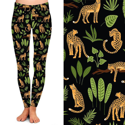 Natopia Deluxe On The Prowl Leggings One Size Fits 8-14