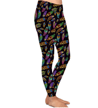 Natopia Deluxe Feathers of Freedom Leggings Curvy Plus Size Fits 16-22