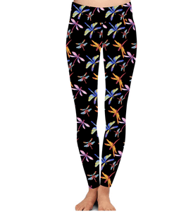 Natopia Deluxe Dragonfly Daze Leggings Curvy Plus Size Size Fits 16-22