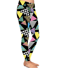 Natopia Deluxe 80s Revival Leggings Curvy Plus Size Fits 16-20