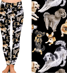 Natopia Deluxe Dog Dynasty Leggings One Size Fits 8-14