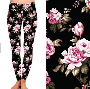 Natopia Posy Leggings One Size Fits 8-14