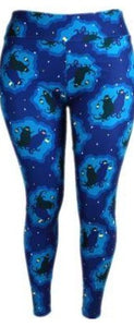 Natopia Ultimate Twilight Ghosts Leggings One Size Fits 8-14