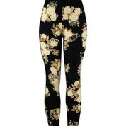 Natopia Winter Blossom Leggings Curvy Plus Size Fits 16-22