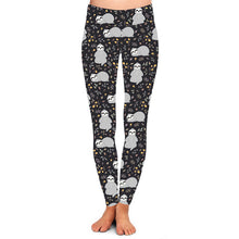 Natopia Deluxe Zen Sloth Leggings Curvy Plus Size Fits 16-20