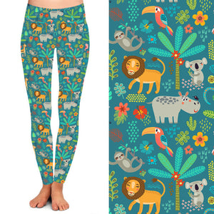 Who in the Zoo Deluxe Leggings - natopia