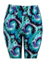 Natopia Ultimate Leggings Curly Swirly Plus Size Fits 16-22