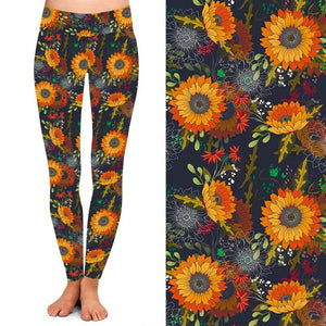 Natopia Deluxe Blanket Flower Leggings One Size Fits 8-14