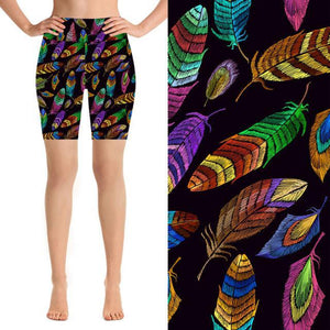 Natopia Deluxe Feathers Of Freedom Shorts Curvy Plus Size Fits 16-20 - natopia