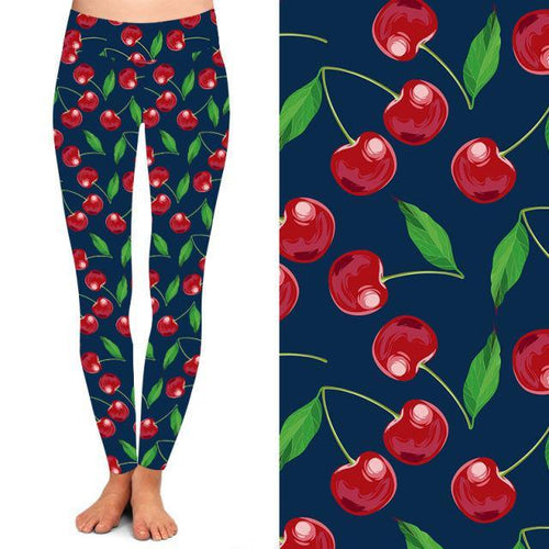 Cherry Pop Deluxe Leggings - natopia