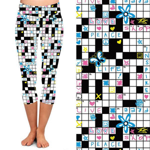Natopia Deluxe Crossword Capri Curvy Plus Size fits 16-20