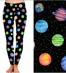 Natopia Deluxe Planet Power Leggings One Size Fits 8-14