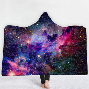 Natopia Another Galaxy Hooded Blanket