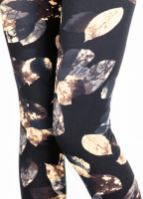 Natopia Kids Super Soft Gold Leaf Leggings - natopia