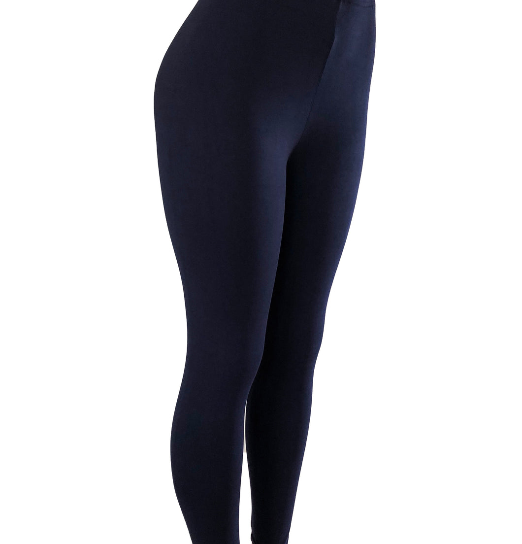 Natopia In the Navy Leggings Curvy Plus Size Fits Size 16-22