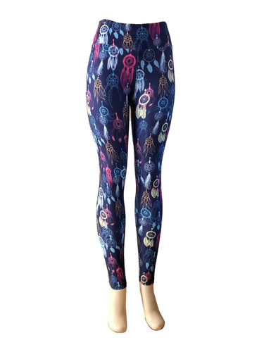 Natopia Dreamcatcher Leggings Exclusive Print Curvy Plus Size Fits Size 16-22