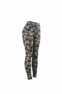 Natopia Scattered Skull Leggings One Size Fits 8-14