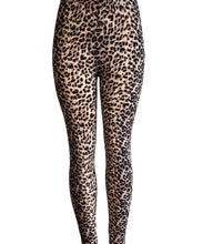 Natopia Wild Nights Super Soft Leopard Print Leggings One Size fits Size 8-14