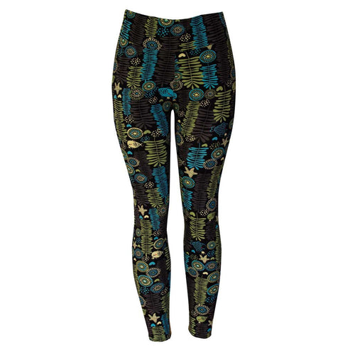 Natopia Under The Sea Leggings Plus Size Fits 16-22