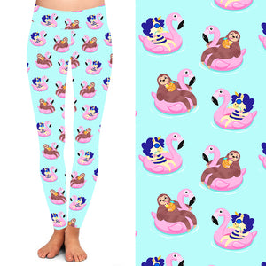 Natopia Deluxe The Unicorn and the Sloth Leggings Kids S/M (4-7 Years)