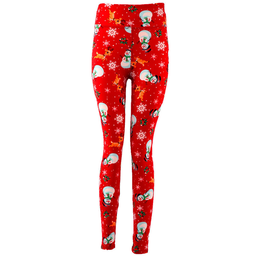 Natopia Super Soft The Perfect Snowman Leggings Extra Curvy Fits 22-28