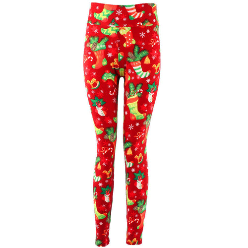 Natopia Super Soft 'Twas the Night Before Christmas Leggings Plus Size Fitz 16-22