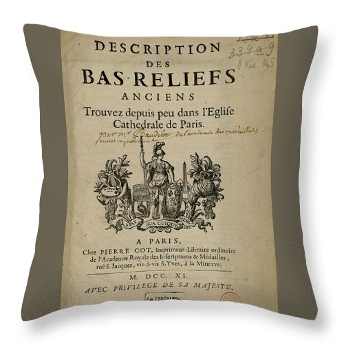 Bas Reliefs - Throw Pillow