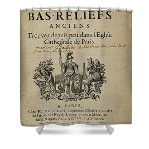 Bas Reliefs - Shower Curtain