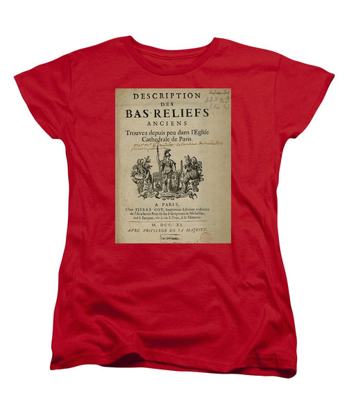 Bas Reliefs - Women's T-Shirt (Standard Fit)