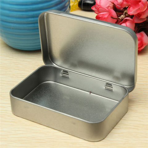 Flip Metal Storage Box Case For Money Coin Candy Keys