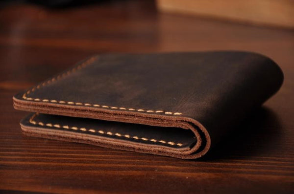 Handmade Genuine Leather Wallet Leather