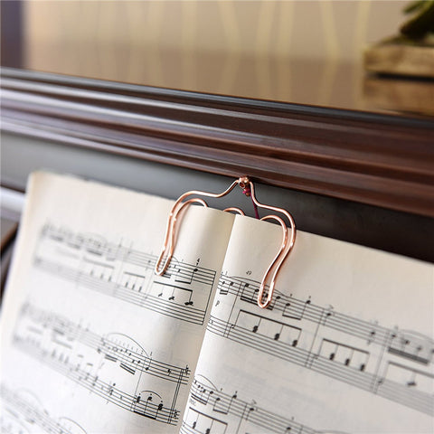 Music Book Clip, Bookmark,  many colors